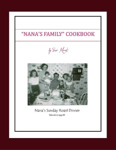 Nana's Family Cookbook - New eBook format! Buy now