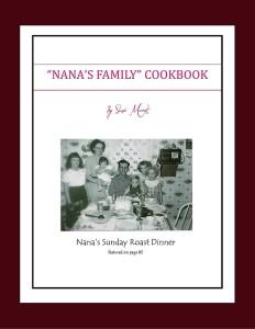 Nana's Family Cookbook - New eBook format! Buy now