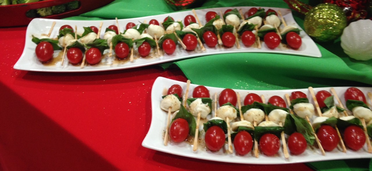 Caprese Skewers - Easiest and Classiest Appetizer Ever!