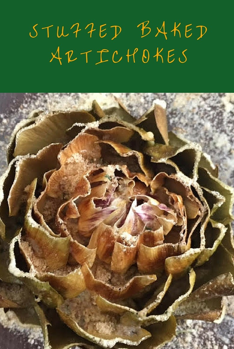 Stuffed Baked Artichokes – Omg…this is heaven