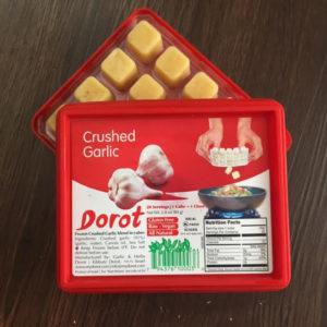 garlic cubes